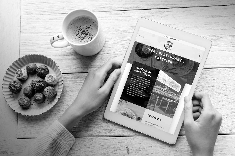 Melbourne restaurant website development